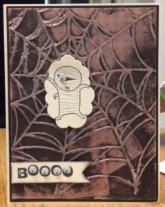Boooo Card
