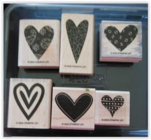 Vintage 2003 stamps set