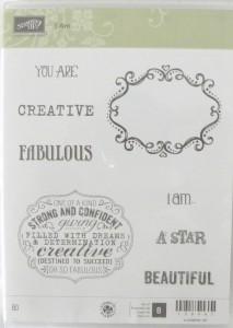 I am, Oh so Fabulous, Creative, a Star, Beautiful