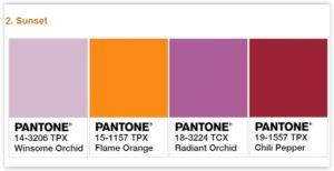 pantone-sunset